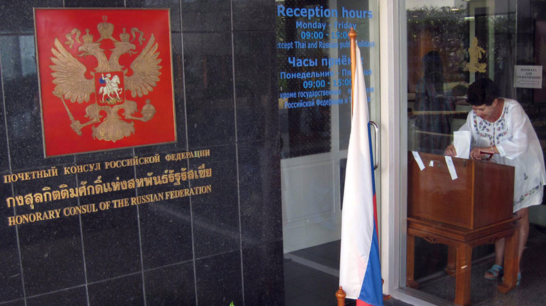 Russia opens 375 polling stations abroad in view of September parliamentary elections