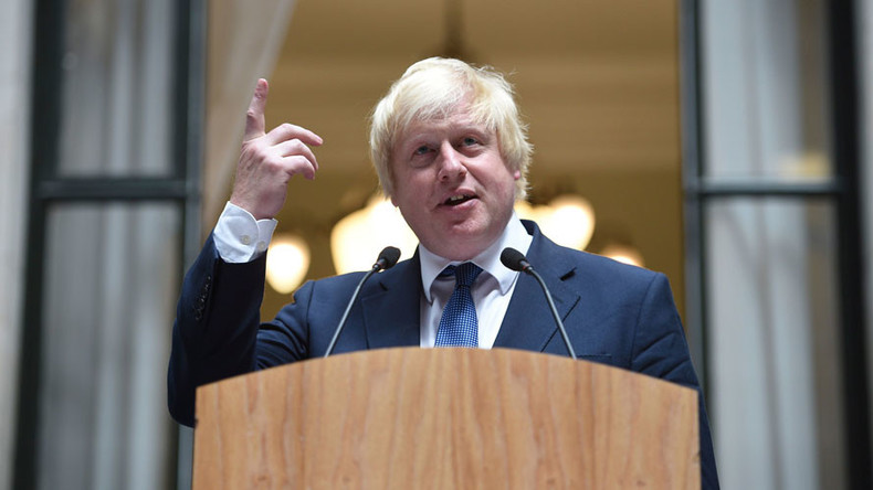 Boris Johnson follows new PM's lead by losing his car (VIDEO)