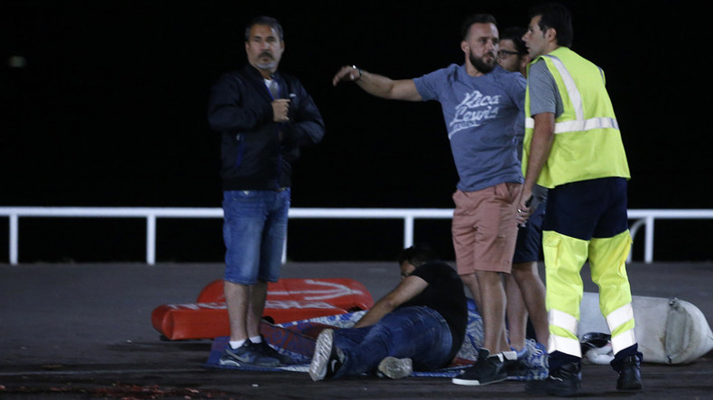 Panic & chaos in Nice: Terrifying videos show immediate aftermath of truck attack (GRAPHIC)