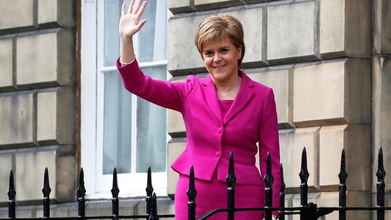 Scot free? PM May heads to Scotland as Sturgeon threatens post-Brexit independence