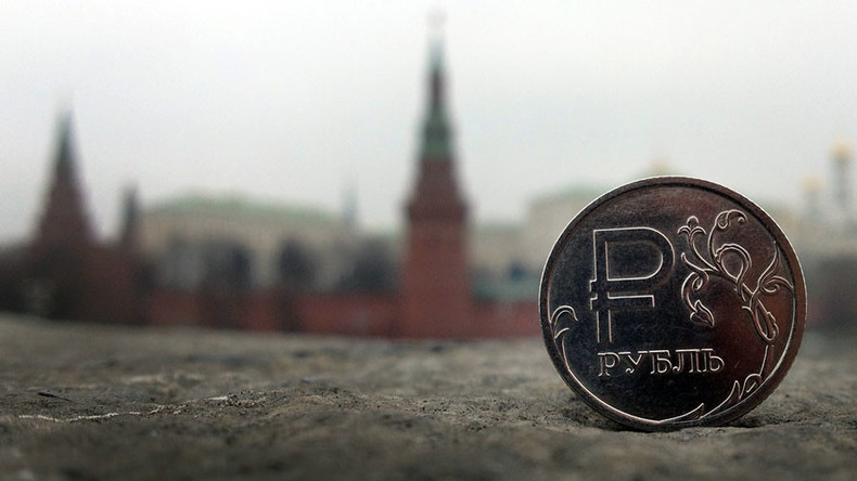 Ruble touches 8-mth high as tax period begins in Russia