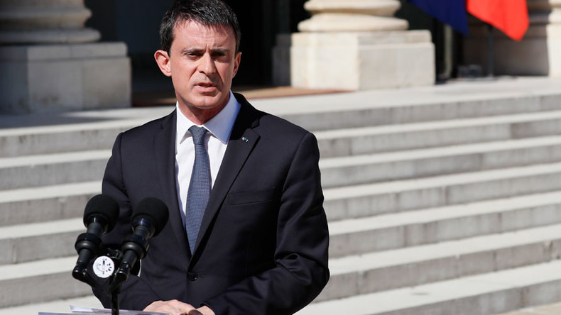 'Thanks, M. Valls': Social media furious over PM's 'France will have to live with terrorism' comment