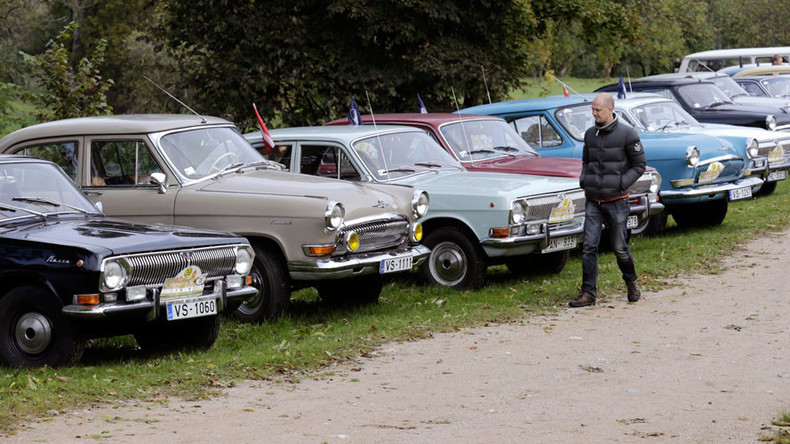 Vintage Soviet cars dumped by migrants auctioned off in Finland