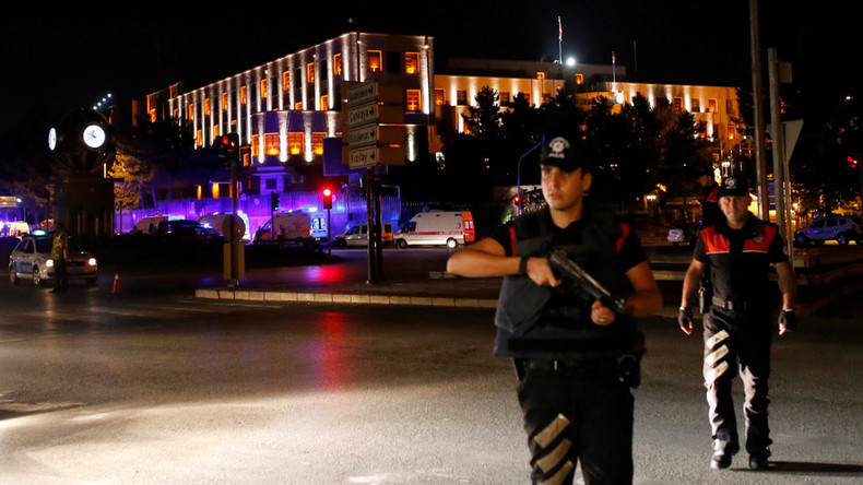 Gunfire, military helicopters in Ankara, PM says 'coup attempt' by part of army underway