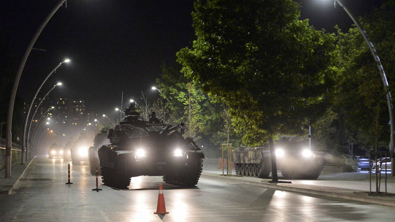 Ankara parliament building 'bombed from air' – state agency