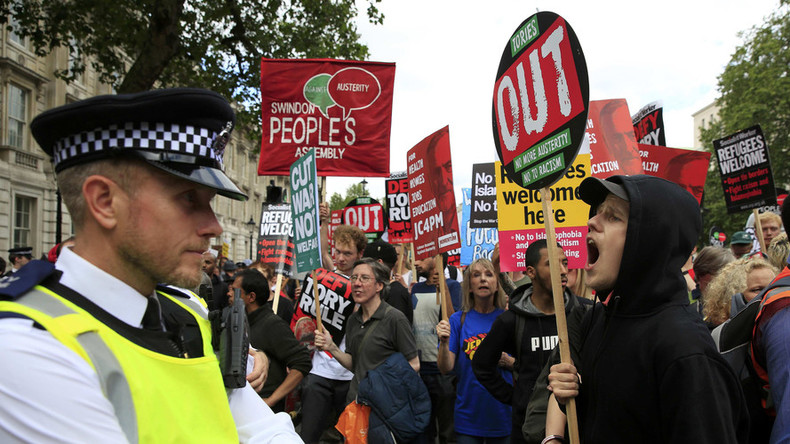 London sees mass post-Brexit anti-Tory, anti-austerity, anti-racism protest (PHOTOS)