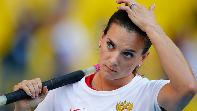 Isinbayeva: IAAF is 'under orders' to keep Russia out of Olympics