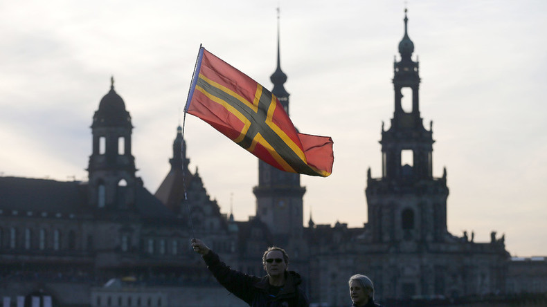 Pegida launches political party amid impending ban over extremism