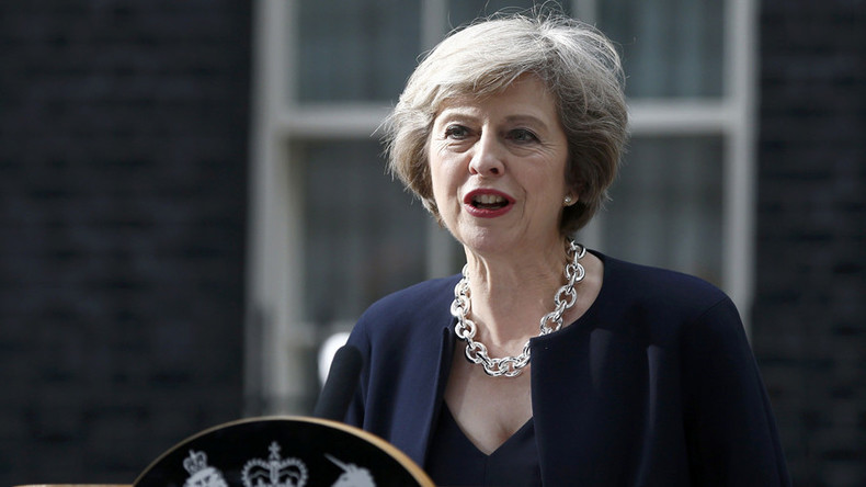 PM May relinquishes Britain's 6-month EU presidency ahead of Merkel meeting