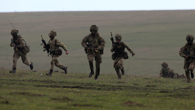 Afghan war veteran dies during training exercise on hottest day of the year
