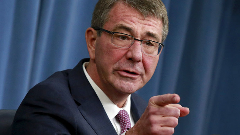 'We have momentum in this fight' Carter on fighting ISIS (LIVE)