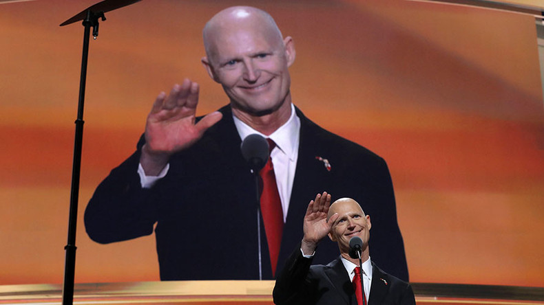 Rick Scott says 'Fire politicians!', twitter wonders if he should be the first one