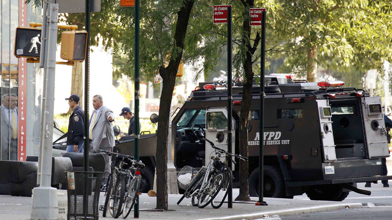 'I have a bomb & I want to die': Hoax NYC bomber arrested after 6-hour standoff