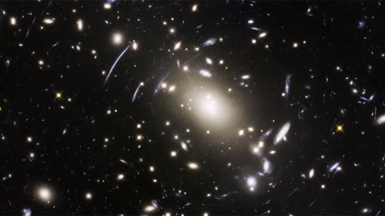 Final frontier: Hubble captures awesome space-warped images of mega-distant galaxies (VIDEO)