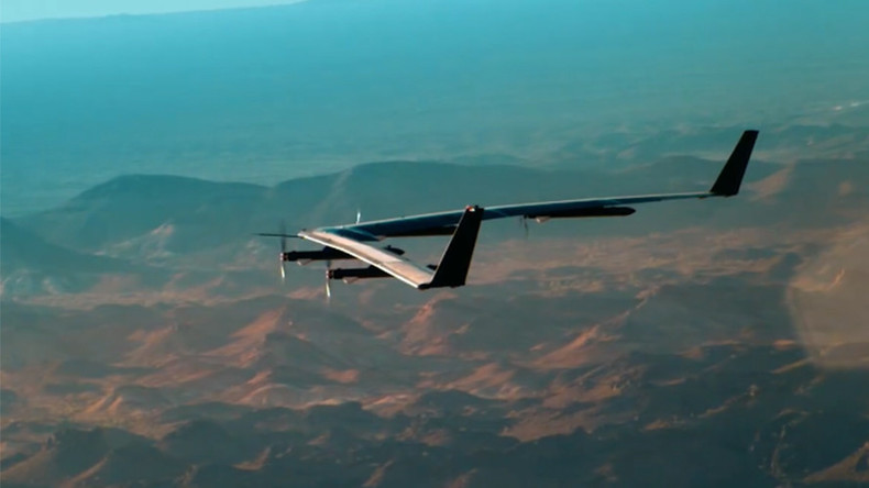 'Big milestone': Facebook test-flies solar-powered, internet-beaming drone (VIDEO)