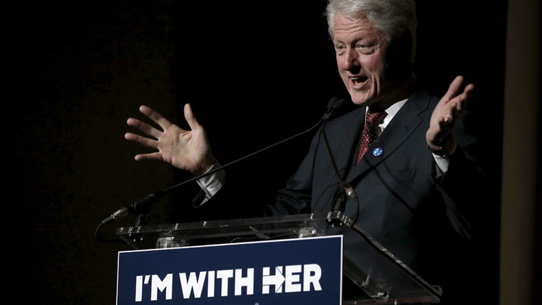 Bill Clinton 'Rape' T-shirts go on sale at RNC