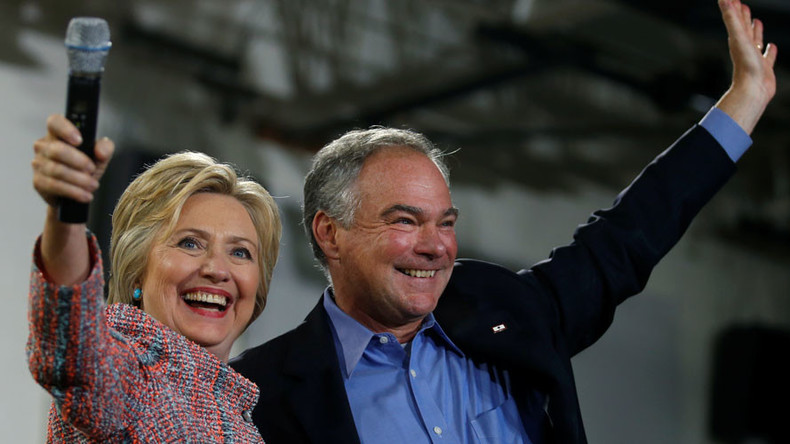 Yes we Kaine? Clinton tipped to reveal VP pick in Florida