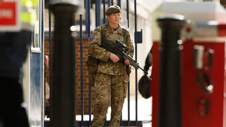 Lockdown: UK military in security panic after RAF base 'abduction attempt'