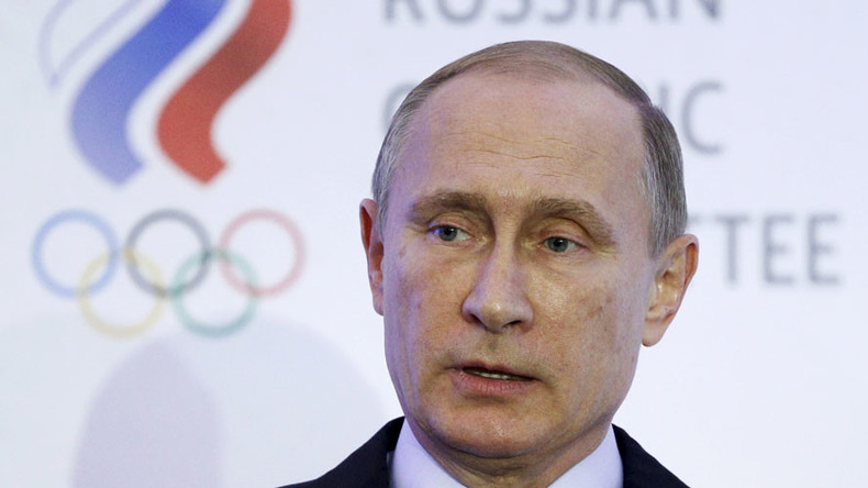 Putin calls for independent commission with foreign experts to handle Russian doping issue