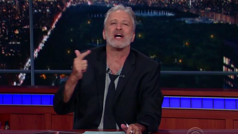 Jon Stewart annihilates Trump, his supporters & Fox News in scathing speech (VIDEO)