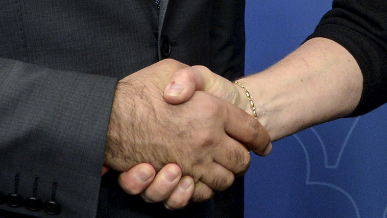 Swedish city sued after firing Muslim man for refusing to shake hands with women
