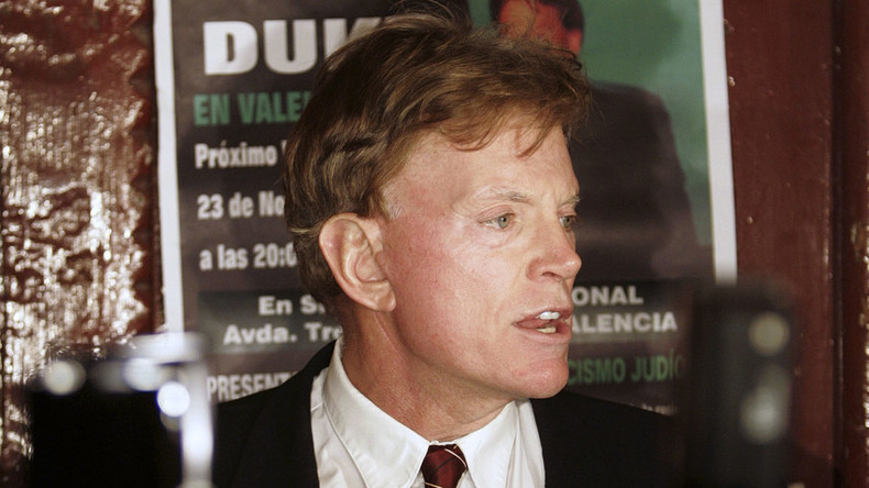 Ex-KKK Grand Wizard David Duke wants to be Louisiana's next senator