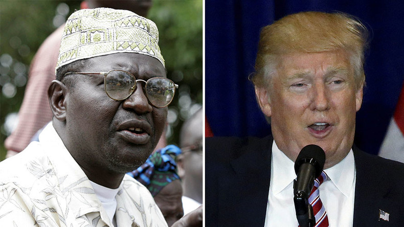 So much for brotherly love... Malik Obama says he'd vote for Trump