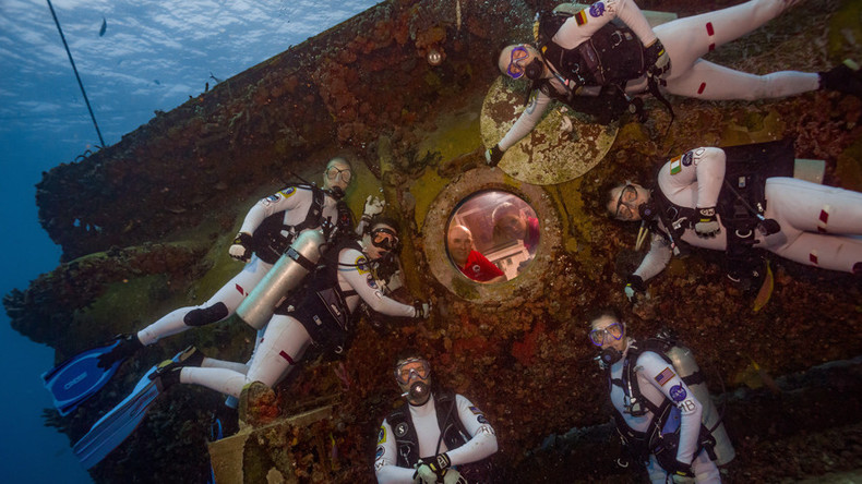 Mars prep mission makes history with underwater DNA sequencing