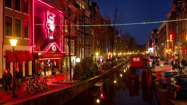 Dutch pensioners invest in Amsterdam's red-light district