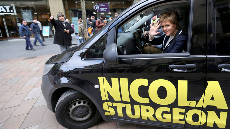 Sturgeon blames austerity for Brexit vote, repeats threats of 2nd Scottish independence referendum