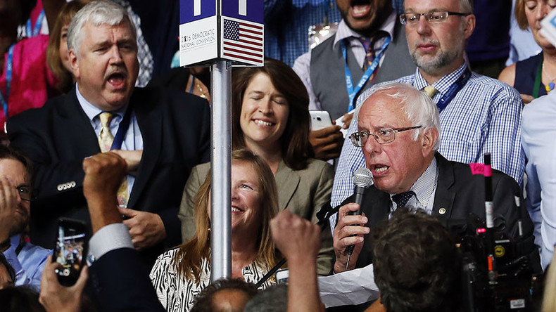 'I move that Hillary Clinton be selected': Bernie Sanders' final word as candidate at DNC