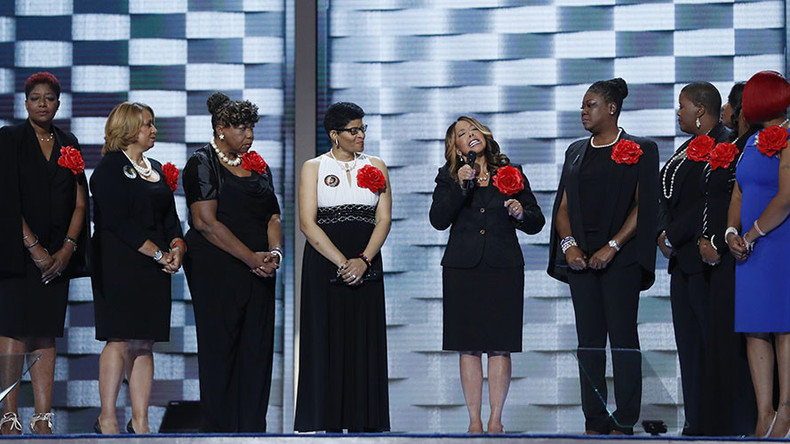 'Mothers of the Movement': DNC guests spark trending Twitter war over Black Lives Matter