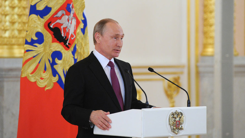 Putin urges unified international doping control standards