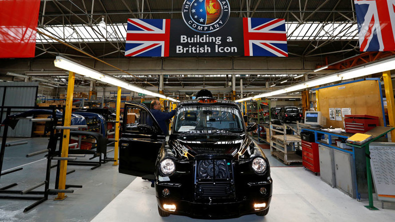 UK economy sped up in the Brexit vote run-up