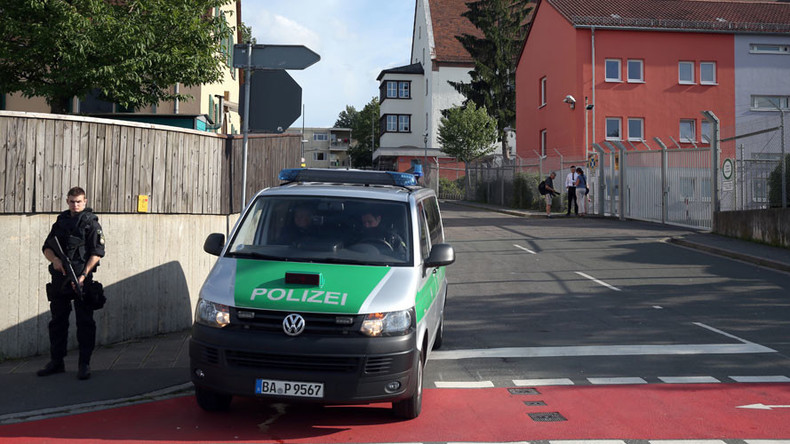 Bavarian police confirm incident, 'not explosion' near migrant center