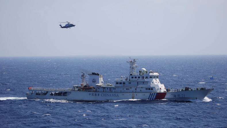 Chinese & Russian navies to hold drills in South China Sea in September