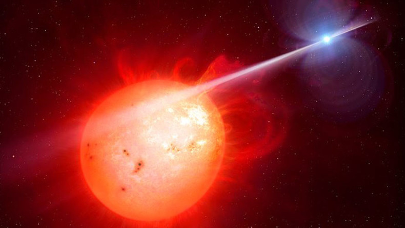 Mystery space ray: White dwarf blasting neighbor star with 'brutal' radiation (VIDEO, POLL)