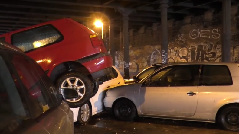 40 car pile-up in Berlin tunnel after city battered by severe storms (VIDEOS, PHOTOS)