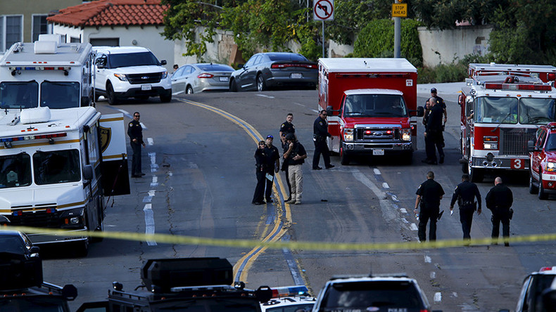 1 officer shot dead, another injured during San Diego traffic stop