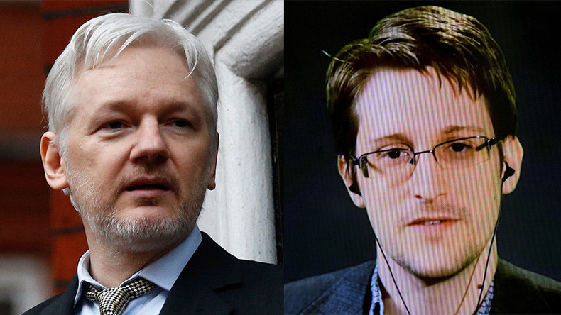 Edward Snowden & WikiLeaks clash on Twitter over how to better leak data