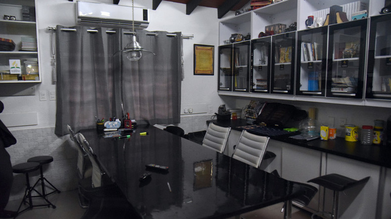 Brazilian drug lord busted after turning prison cell into luxury suite