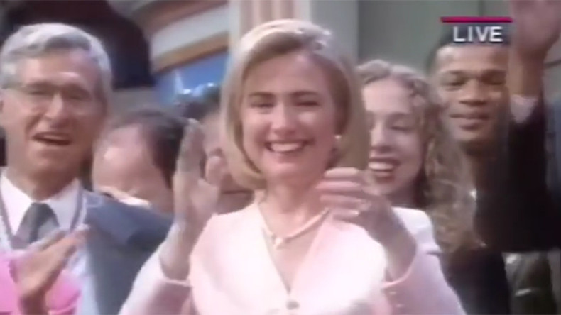 Watch Hillary Clinton get down to the Macarena at 1996 DNC (VIDEO)