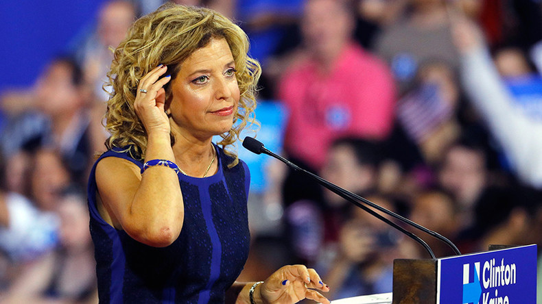 'No graceful exit for Debbie Wasserman Schultz from DNC'