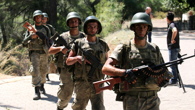 Erdogan dismisses 1,400 army staff, announces sweeping overhaul of Turkish military
