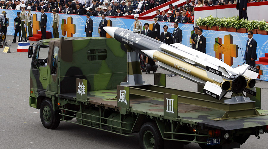 Taiwan misfires supersonic missile in China's direction, kills own fisherman