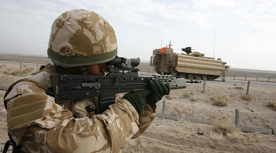 Iraqi looters 'commonly' thrown into river by UK troops… some may have drowned, inquiry hears
