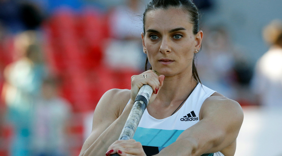 World champ Isinbayeva & other Russian athletes barred from Olympic Games