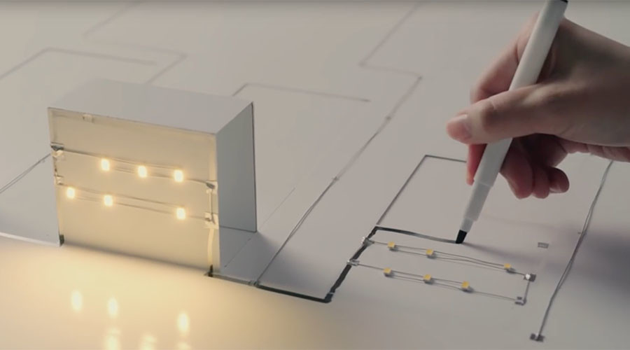 Electronic 'magic' marker creates illuminated 3D city from mere drawings (VIDEO)