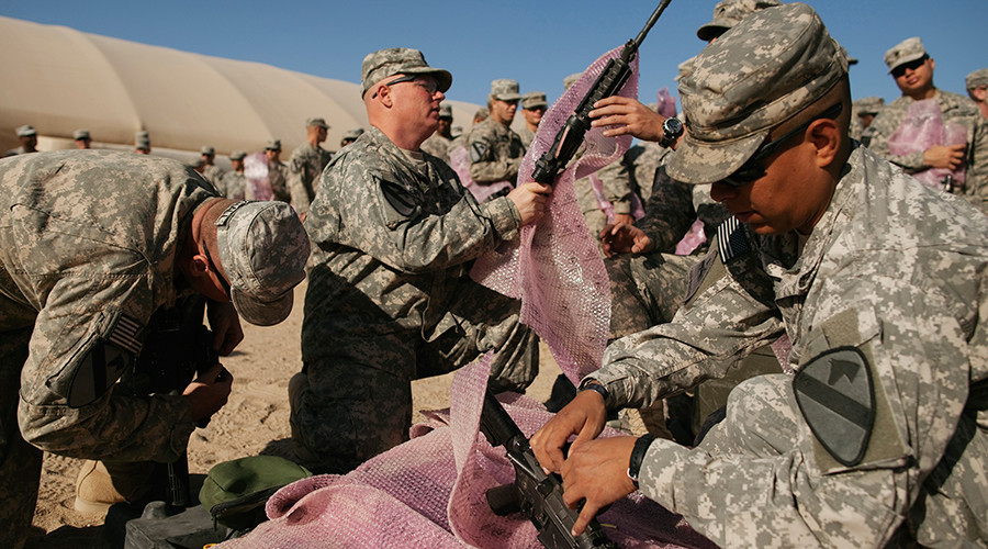 Guns sold, guns lost: What Pentagon sent to Iraq & Afghanistan after 9/11