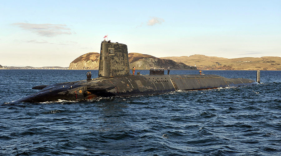 'Letter of last resort': If Britain is nuked, would Theresa May retaliate with Trident?